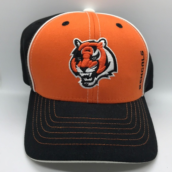 ebf68f79 EUC Kids Cincinnati Bengals NFL Adjustable Hat